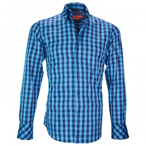 Chemise double colCARDIFF Andrew Mac Allister XP7AM2