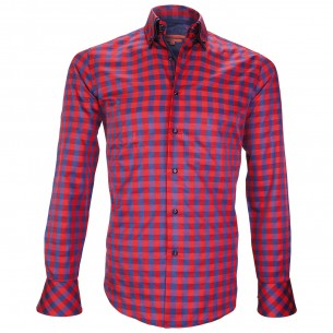 Chemise double colCARDIFF Andrew Mac Allister XP7AM1