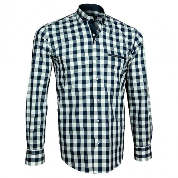 Chemise à coudières DONATELLO Emporio balzani A3EB7
