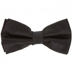 CRAVATE EN SOIE BOWTIE Andrew Mc Allister KNPAP-NOIR