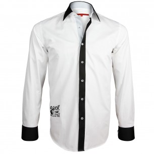Chemise brodée JIMMY Andrew Mc Allister Y5AM1