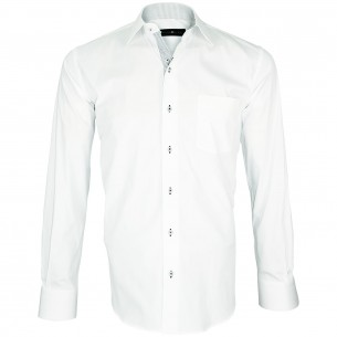 chemise blanche mode TINO Emporio balzani Q1EB5