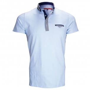 Polo double colJOHN Andrew Mac Allister ZB1-SKY