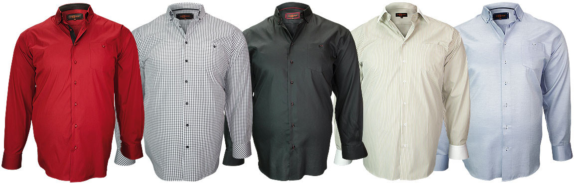 new collection big size shirts