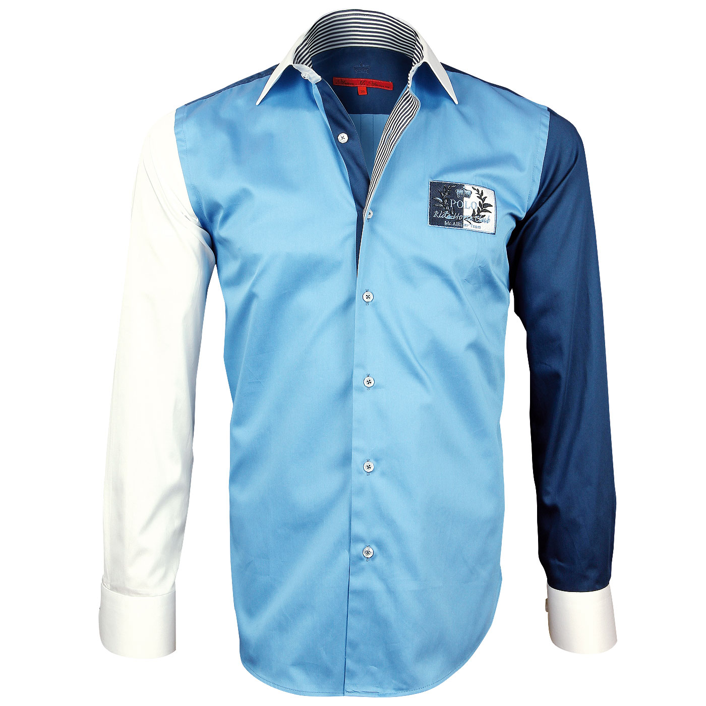 Men Shirt: Embroidered Exclusive Models Design of ChemiseWeb