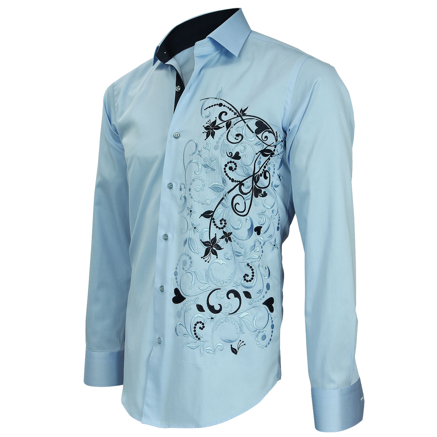 Embroidered Shirt with Embroidery Exclusive by Chemiseweb