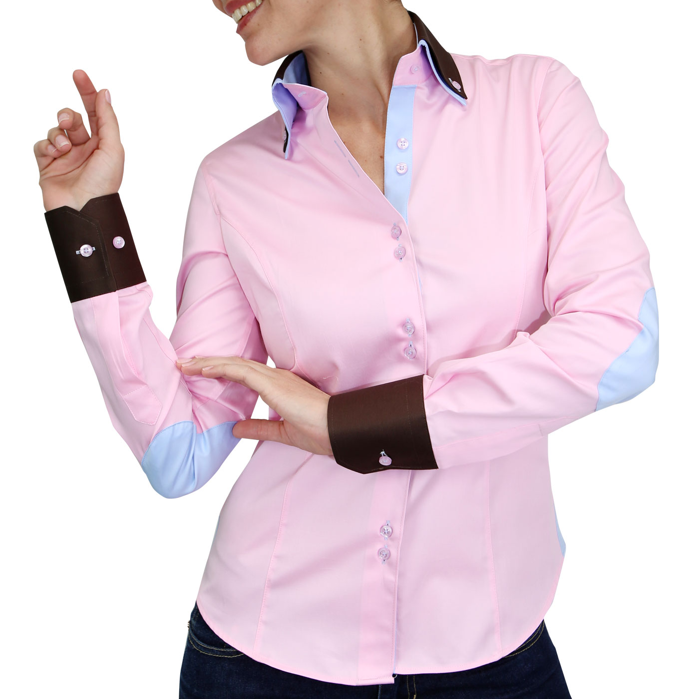 Women's Fashion Shirt Slim Fitted by Webmenshirts