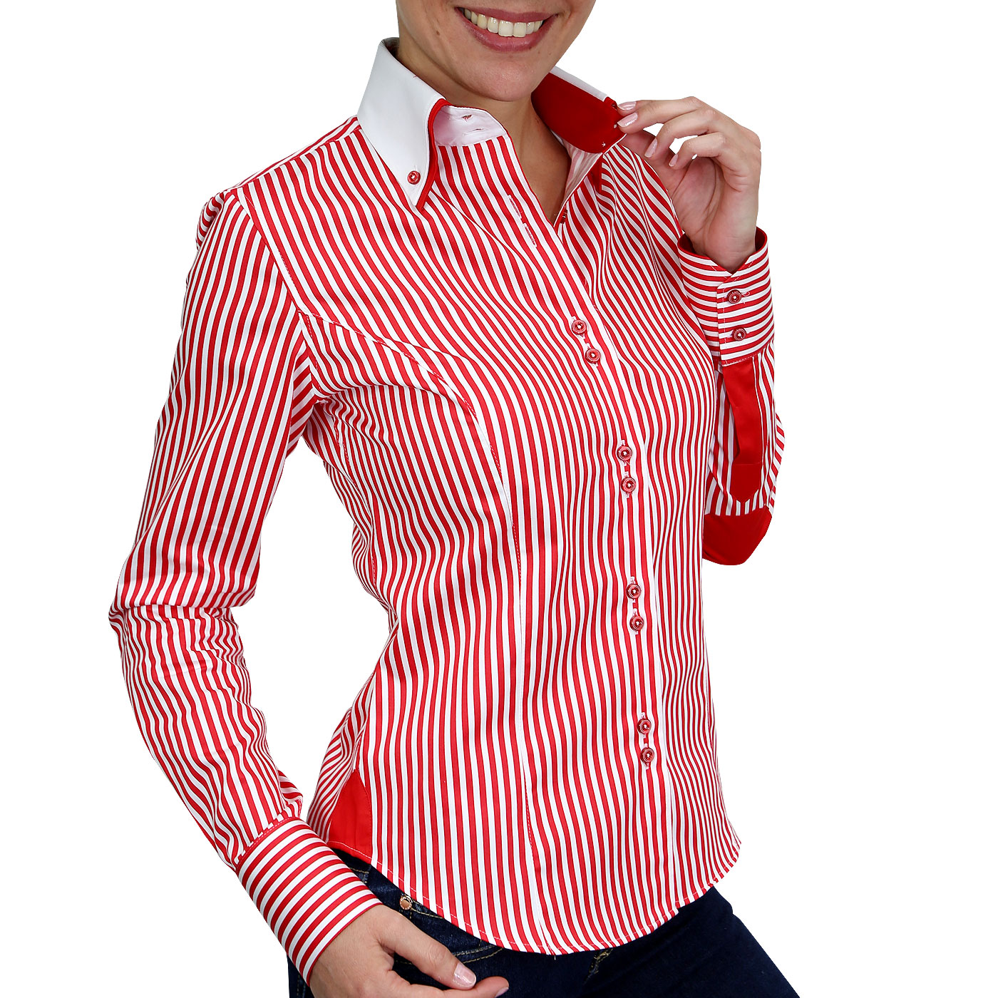 Borsalino woman red shirt