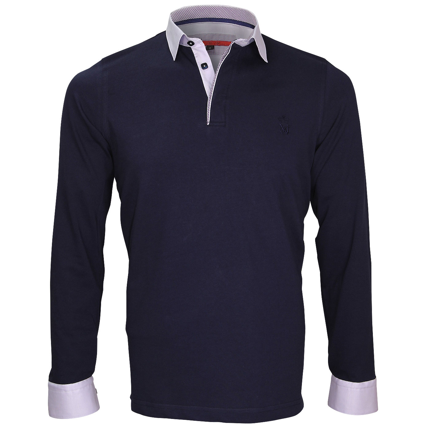 Men's Long Sleeve Polo shirt delivered in 48H on webmenshrits