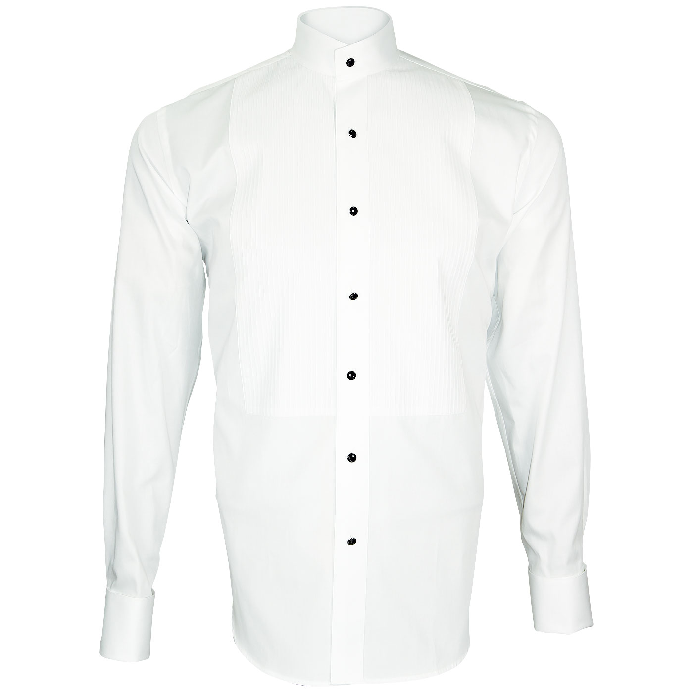 Slim Fit  Shirt  Turtle Collar Shirt for Elegant Men