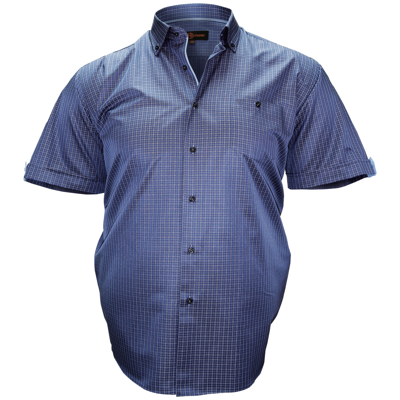 Large Sizes Shoirts Sleeves Shirt for Men Sizes 2XL to 6XL