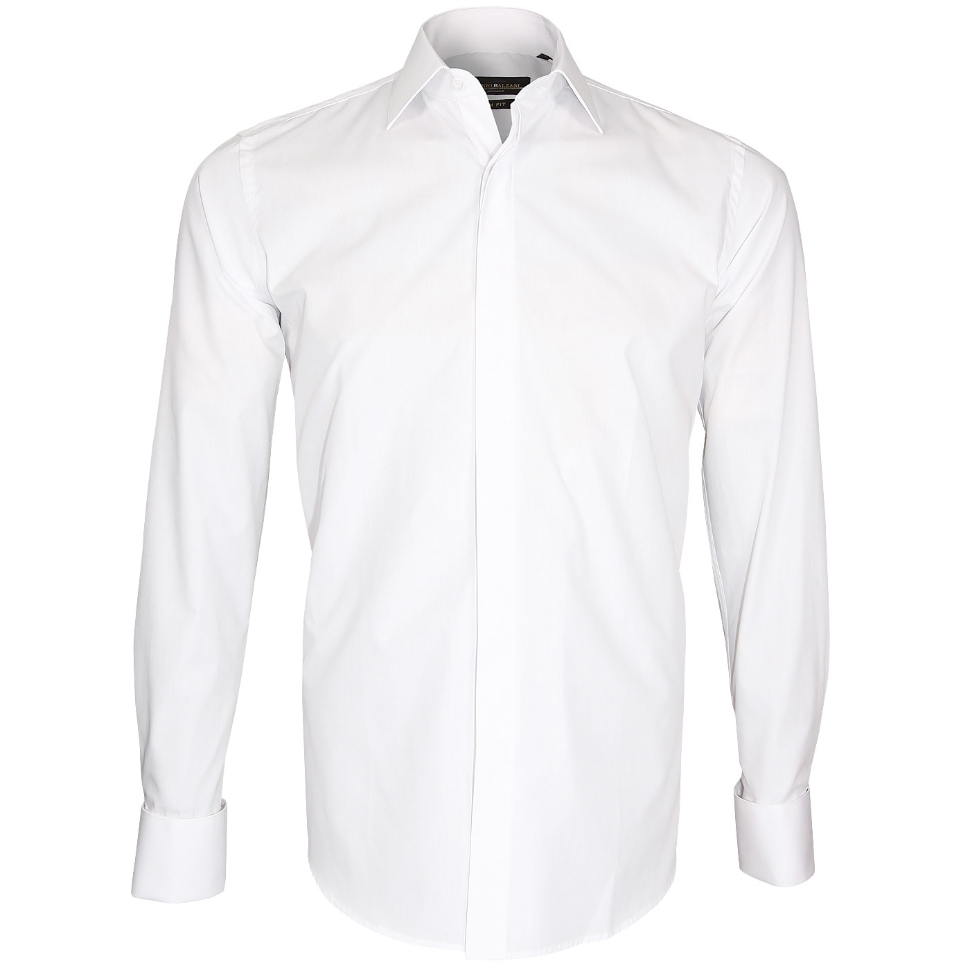 French cuffs shirt easy ironing