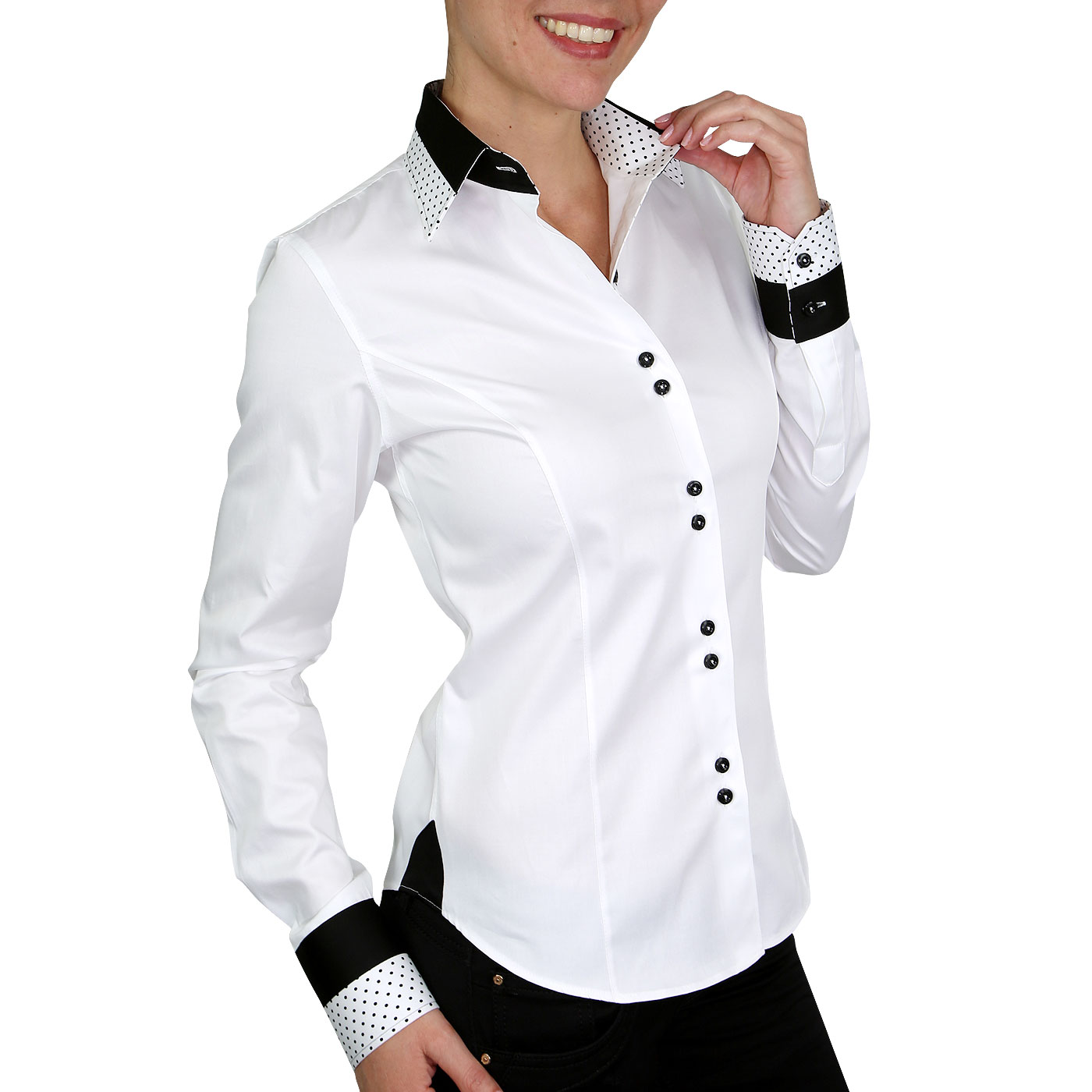 French Cuffs Woman's Shirts