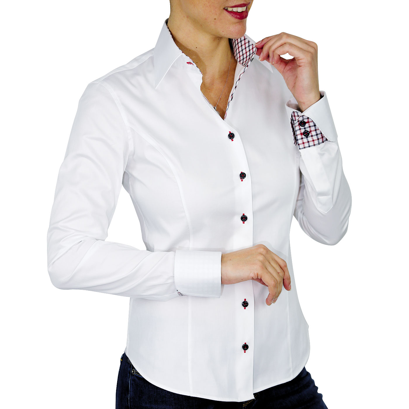 Slim fit woman's shirt