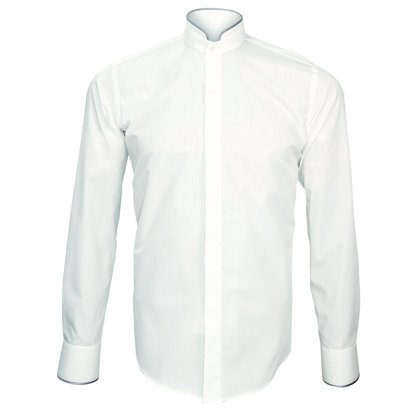 Turtle collar dress shirt