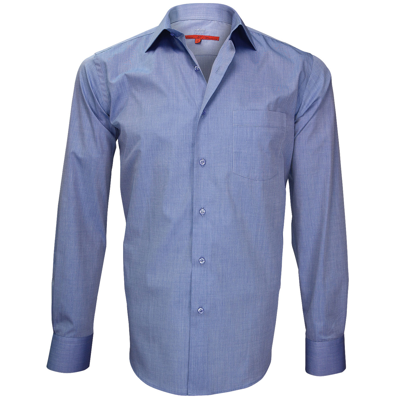 Blue Shirt: Slim or Regular Fit + 800 Models Online