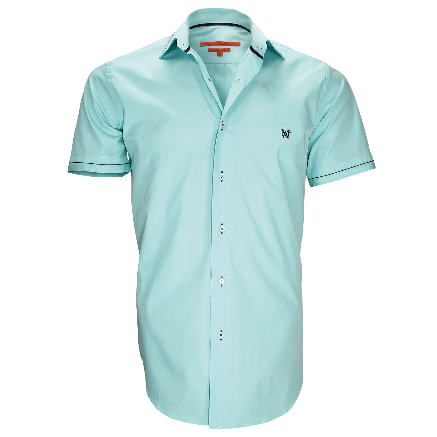 Green shirt very present in the New Collection Webmenshirts