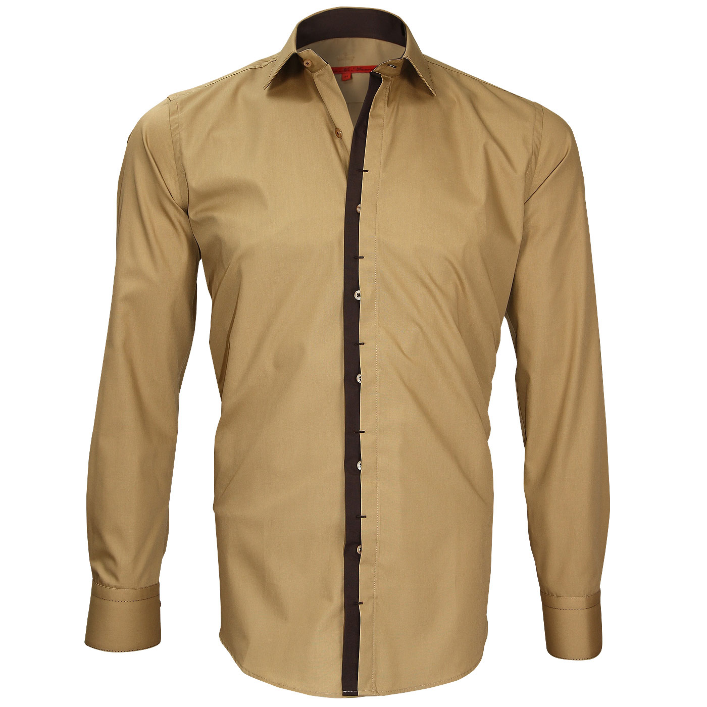 Dark beige shirt