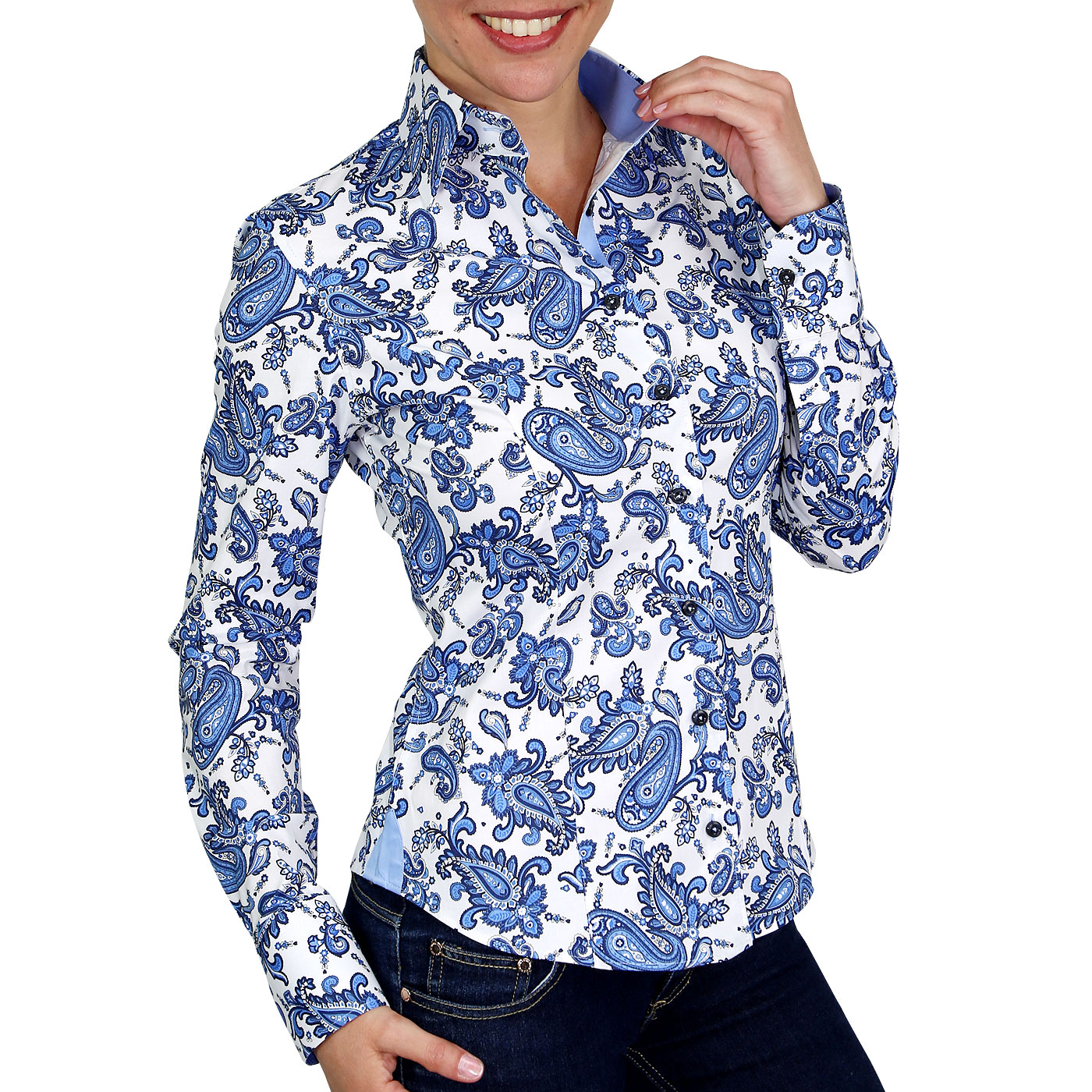 Woman shirt printed
